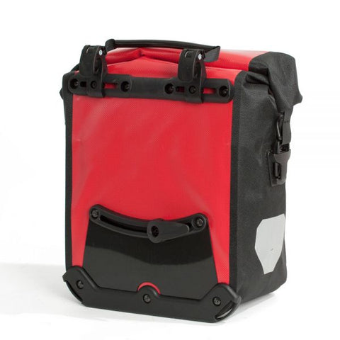 Ortlieb Sport-Roller City - Red bicycle pannier bag