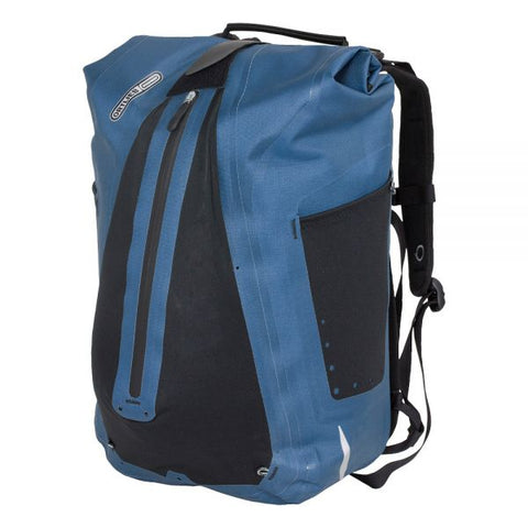 Ortlieb Vario QL2.1 Backpack - Steel Blue