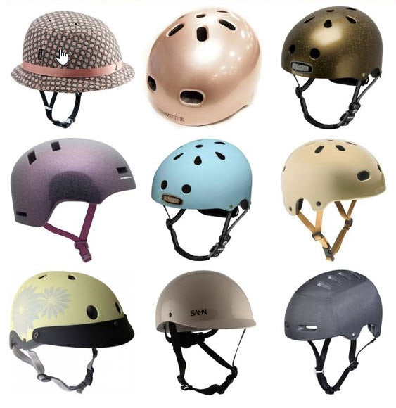 A huge range of helmets is available now