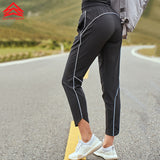 SYPREM Women Sports yoga Pants Loose Black Drawstring Long Pants Girl Fitness Running Sports Wear,CK181006