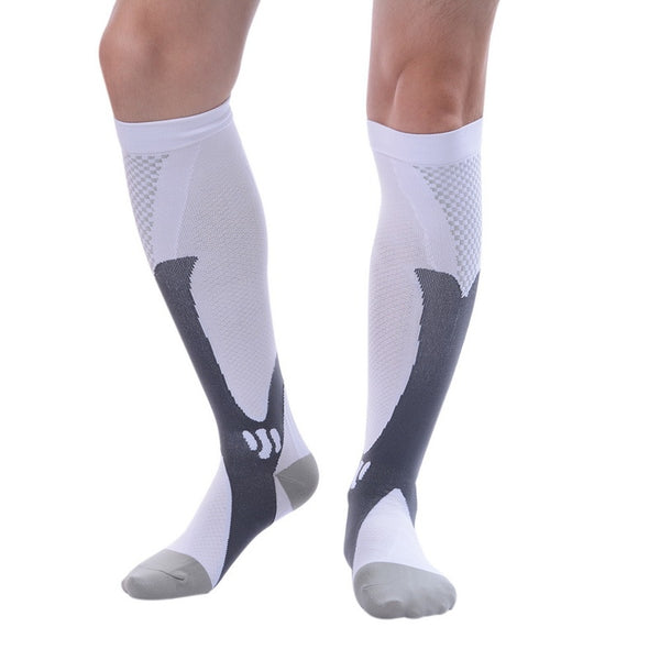 LASPERAL 1 Pair New Fashion Compression Socks Knee High Sock Support Athletic Running Pregnancy Health High Quality Socks