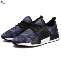Fashion New Sneakers Breathable Shoes Camouflage Shoes Men Casual Shoes Man Hombre Army Green Mens Shoes Casual Running Shoes Footwear Large