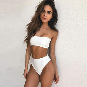 IBIZA HIGH WAIST BIKINI SET