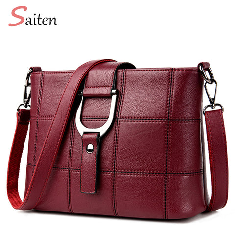 Luxury Women Messenger Bag Designer Leather Shoulder Tote Bag