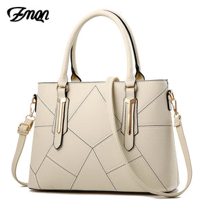 ZMQN Luxury Handbags for Women Famous Brand PU Fashion Crossbody Designer