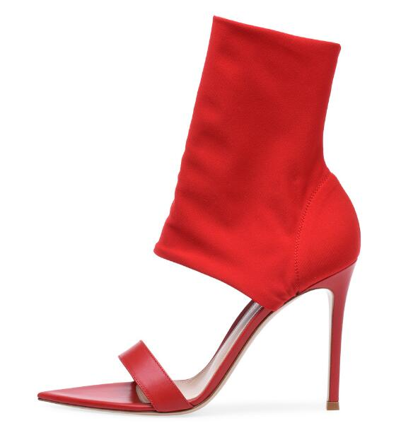 Sexy Women's Fashion Open Toe Thin High Heel Sandals