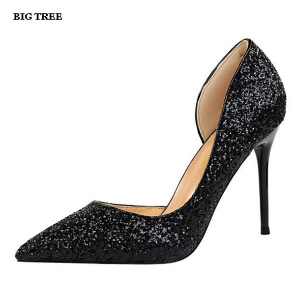 Fashion Ladies Stiletto Party Heels Plus Sizes