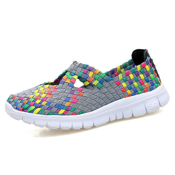 Summer Woven Multi Ballet Sneakers