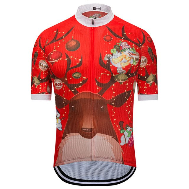 07604f219 Christmas Reindeer Cycling Jersey – Procyclingriders
