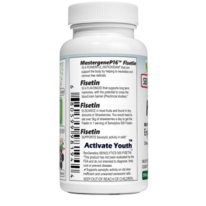 SENOLYTICS 500: Fisetin 500mg