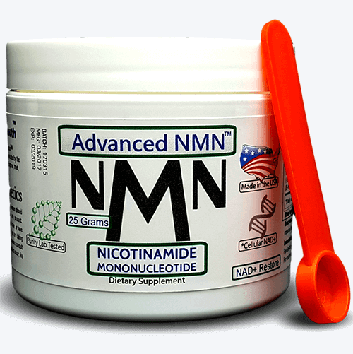Advanced NMN: Nicotinamide Mononucleotide - 25 Grams