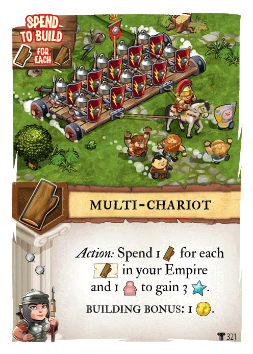 Imperial Settlers: Empires of the North - Roman Banners Board Game - Macronova Games
