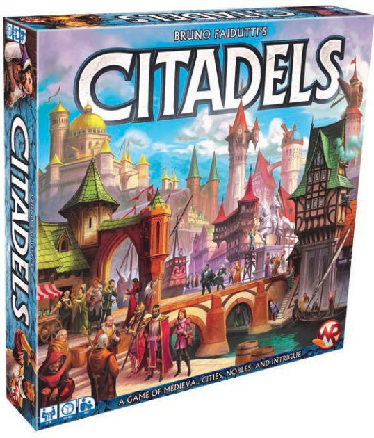 Citadels (2016 Edition) Board Game - Macronova Games