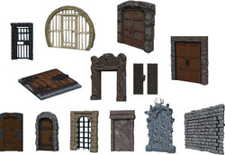 Warlock Tiles: Doors & Archways Accessory - Macronova Games