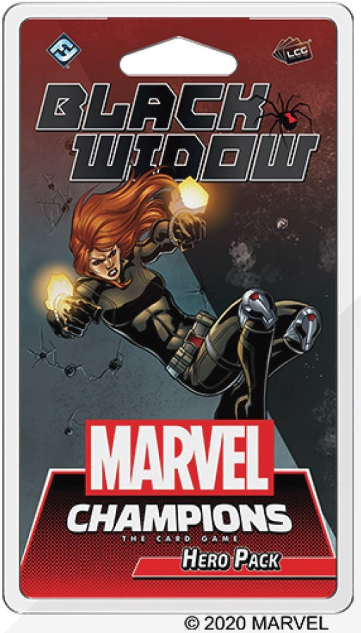 Marvel Champions: Black Widow Hero Pack Board Game - Macronova Games