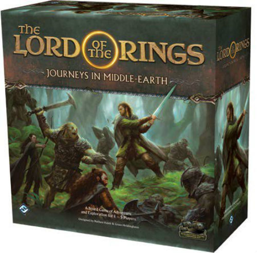 The Lord of the Rings: Journeys in Middle-Earth Board Game - Macronova Games