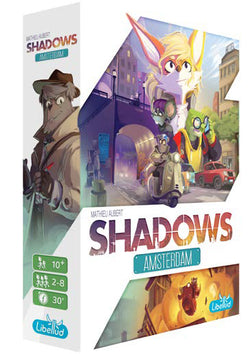 Shadows: Amsterdam Board Game - Macronova Games