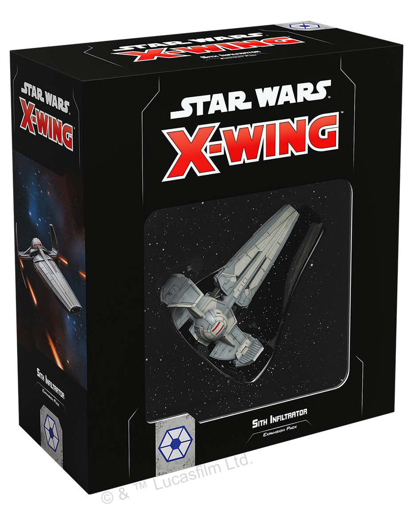 Star Wars X-Wing: 2nd Edition - Sith Infiltrator Expansion Pack Board Game - Macronova Games