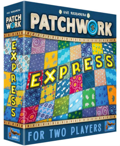 Patchwork Express Board Game - Macronova Games