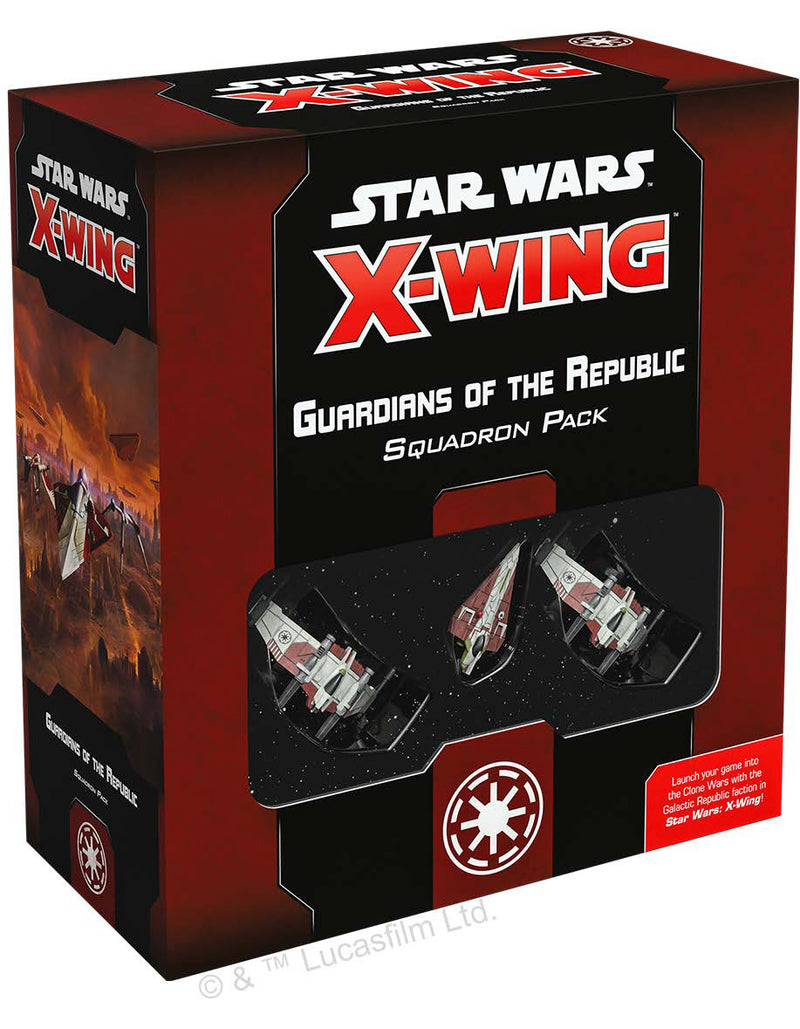 Star Wars X-Wing: 2nd Edition - Guardians of the Republic Squadron Pack Board Game - Macronova Games