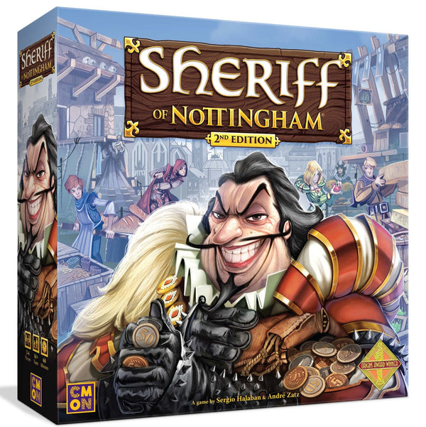 Sheriff of Nottingham 2nd Edition Board Game - Macronova Games