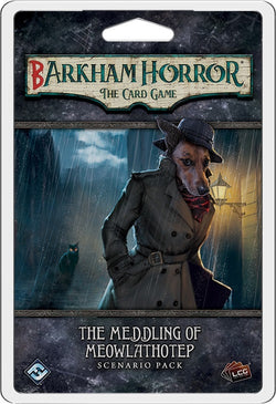Arkham Horror: The Card Game Barkham Horror - The Meddling of Meowlathotep Scenario Pack Board Game - Macronova Games