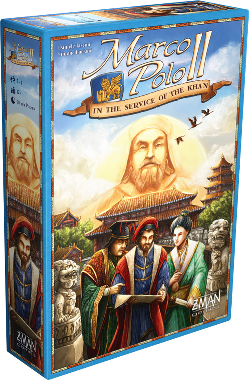 Marco Polo II: In the Service of the Khan Board Game - Macronova Games