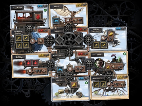 Steampunk Rally Board Game - Macronova Games