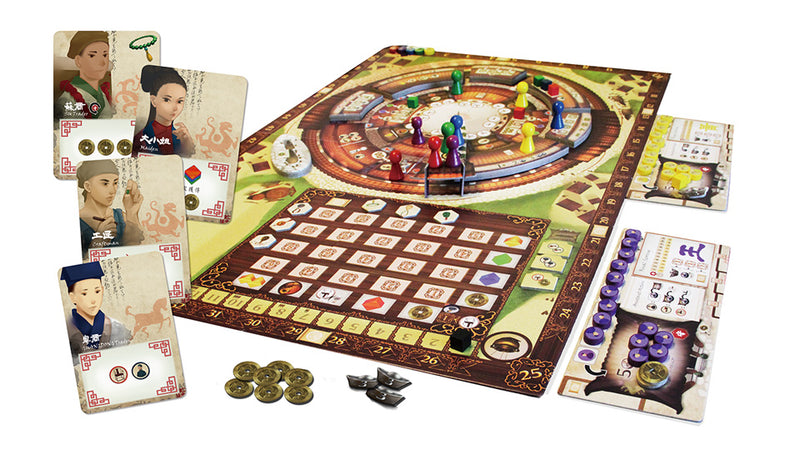 Round House Board Game - Macronova Games