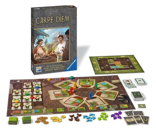 Carpe Diem (2nd printing) Board Game - Macronova Games