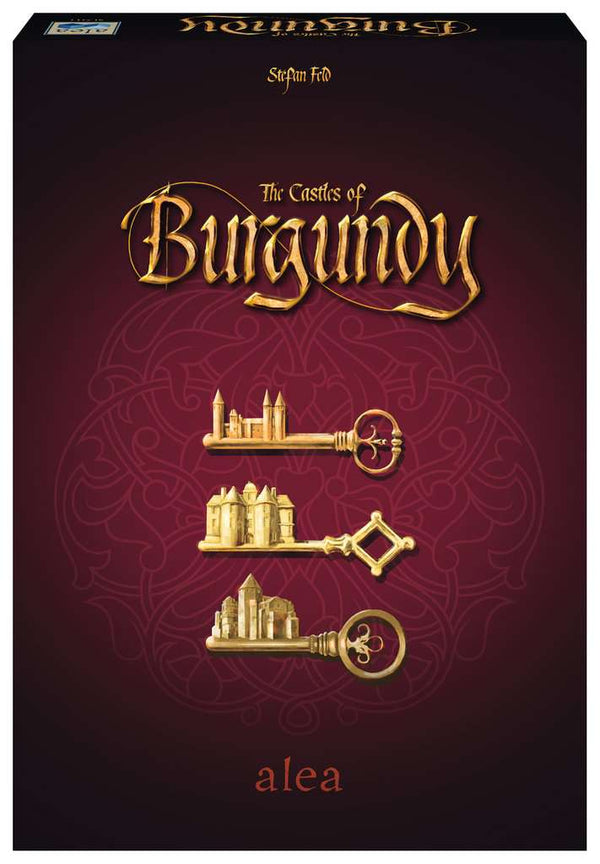 The Castles of Burgundy 20th Anniversary Edition Board Game - Macronova Games
