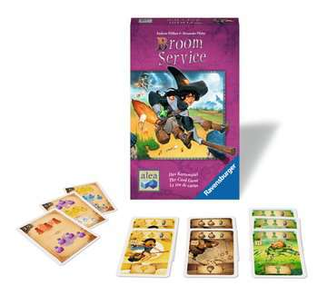 Broom Service - The Card Game Board Game - Macronova Games