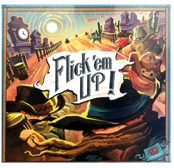 Flick Em Up 3rd Edition Board Game - Macronova Games