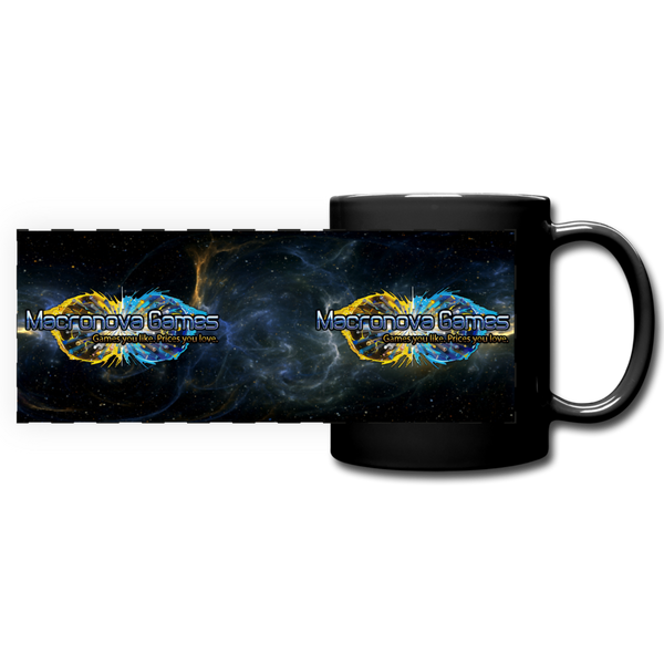 Macronova Games Logo Mug Full Color Panoramic Mug - Macronova Games