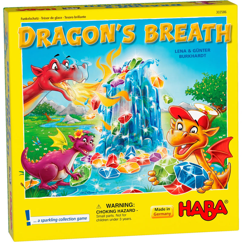 Dragon's Breath Board Game - Macronova Games