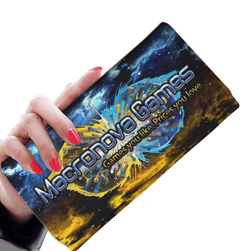 Macronova Games Clutch Wallet Womens Wallet - Macronova Games