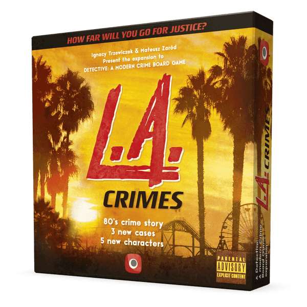Detective: L.A. Crimes Board Game - Macronova Games