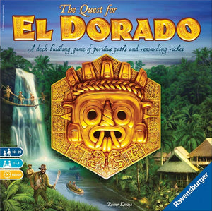 The Quest for El Dorado Board Game - Macronova Games