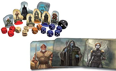 Legends of Andor: Dark Heroes Board Game - Macronova Games