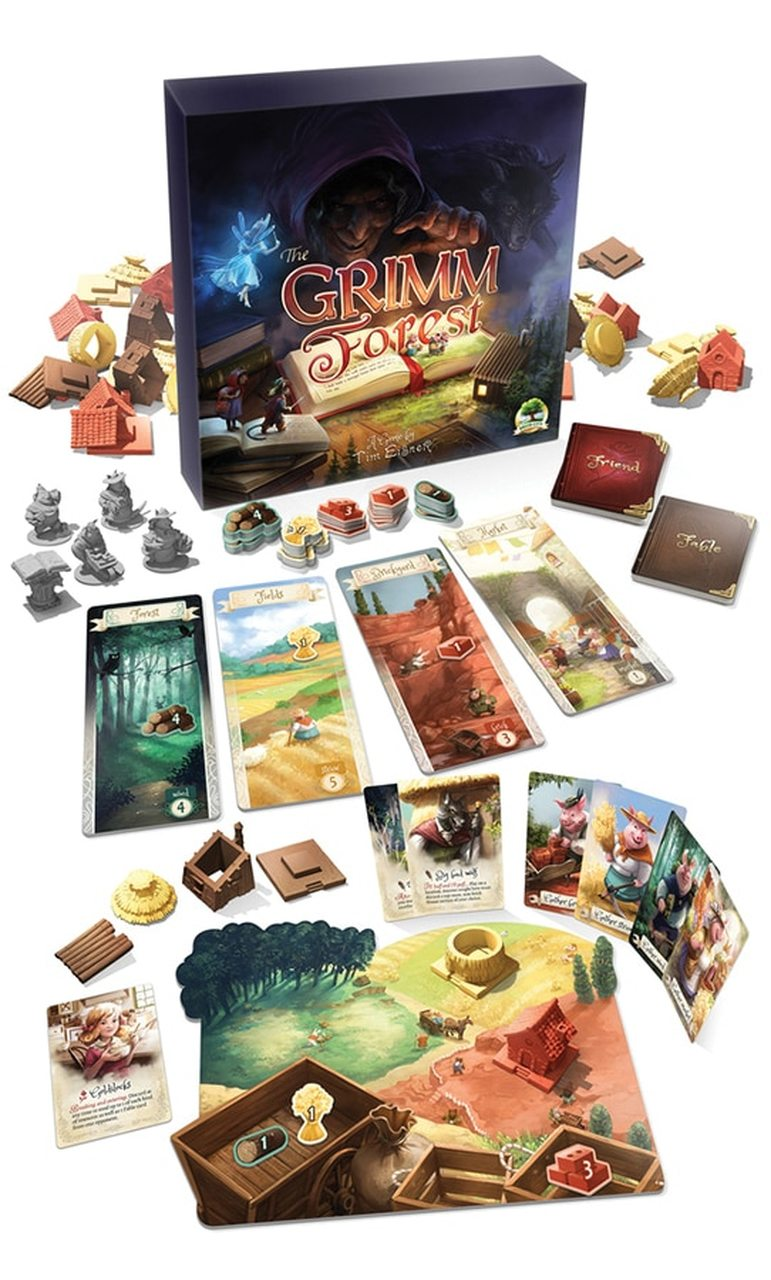 Grimm Forest Board Game - Macronova Games