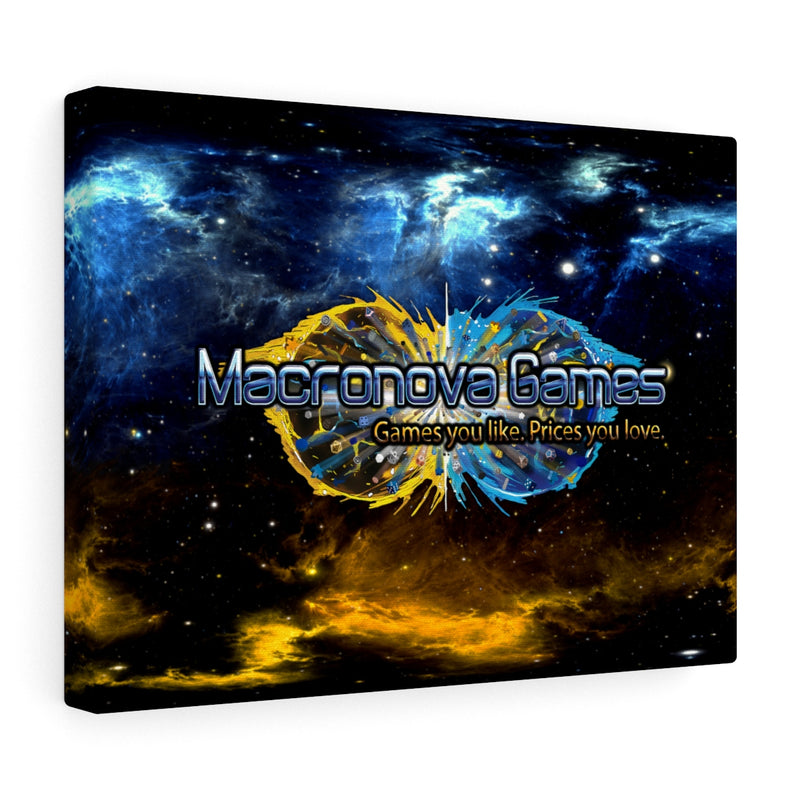 Macronova Games Stretched canvas Canvas - Macronova Games