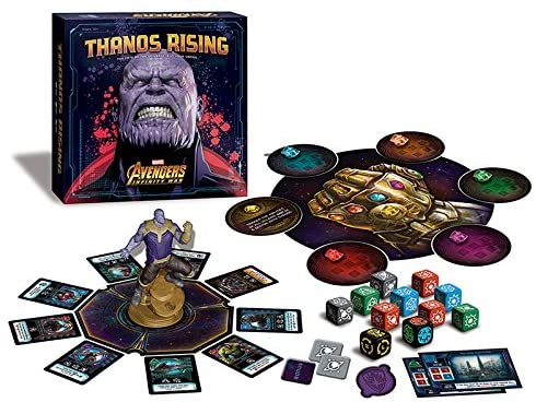 Thanos Rising: Avengers Infinity War Board Game - Macronova Games