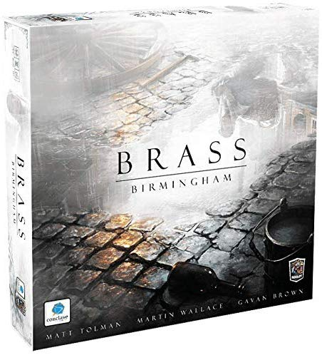 Brass: Birmingham Board Game - Macronova Games