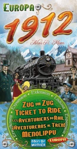 Ticket to Ride: Europa 1912 Board Game - Macronova Games