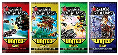 Star Realms: United - Heroes Board Game - Macronova Games
