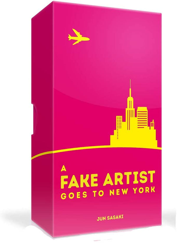 A Fake Artist Goes to New York Board Game - Macronova Games