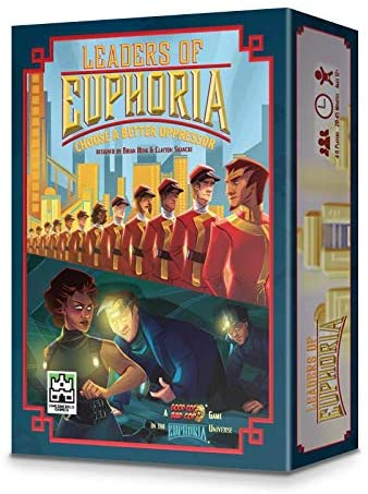 Leaders of Euphoria Board Game - Macronova Games
