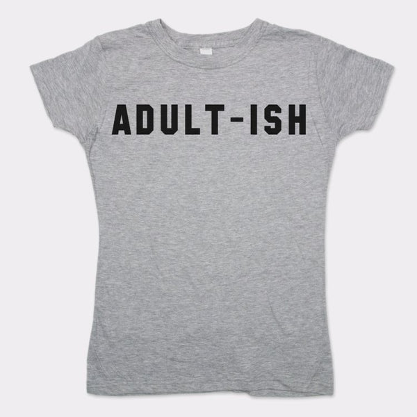 Adultish T-Shirt (Ladies) Ladies T-Shirt - Macronova Games
