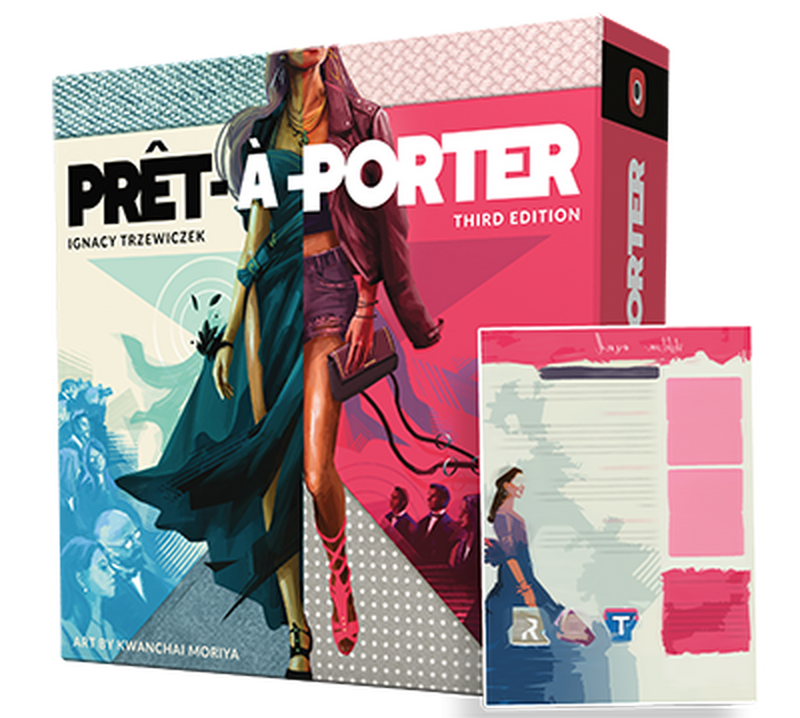 Pret-a-Porter 3rd Edition Board Game - Macronova Games