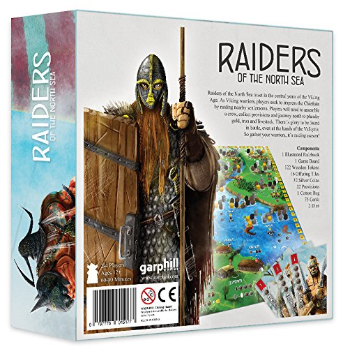 Raiders of the North Sea Board Game - Macronova Games
